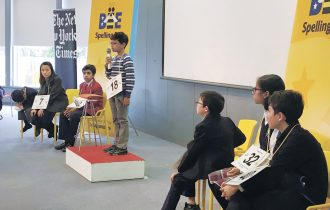 School bee winners honored